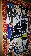 Dare Dream Discover Poster 1991 HS Limited Edition Print by Frank Stella - 3