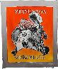 Princeton Wrestling Chiffon Scarf 1997 39 in Other by Frank Stella - 1