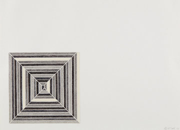 Hyena Stomp, From Jasper's Dilemma 1973 Limited Edition Print - Frank Stella
