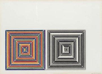 Jasper's Dilemma 1972 Limited Edition Print by Frank Stella