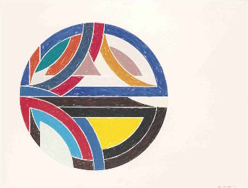 Sinjerli III 1977 Limited Edition Print by Frank Stella