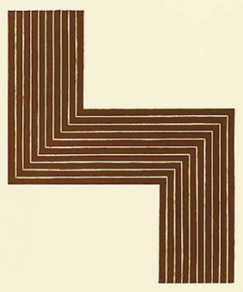 Ophir, From Copper Series 1970 Limited Edition Print by Frank Stella