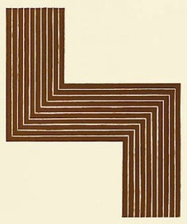 Ophir, From Copper Series 1970 Limited Edition Print - Frank Stella