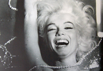 Pearls Laughing Marilyn Monroe 1962 Photography by Bert Stern