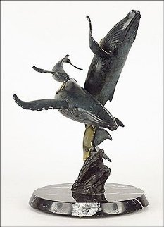 Children of the Islands Bronze Sculpture 1994 18 im Sculpture - Richard Stiers