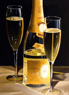 Champagne of Kings AP 2005 Limited Edition Print - Thomas Stiltz