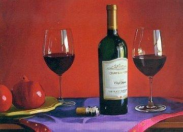 Cinq Cepages 2004 Limited Edition Print by Thomas Stiltz