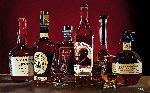 Grand Whiskey Tasting 2017 Original Painting - Thomas Stiltz