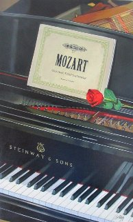 My Mozart 2010 30x18 Original Painting - Thomas Stiltz