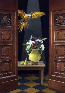 Dream in Color 2017 40x28 Original Painting - Thomas Stiltz