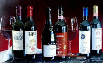 Best From Italy 26x42 Original Painting - Thomas Stiltz