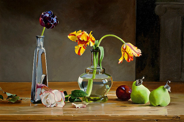 Beautiful Objects 2018 24x36 Original Painting by Thomas Stiltz