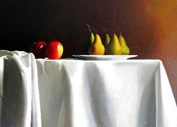 Helen's Table 36x48 Huge Original Painting - Thomas Stiltz