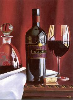 Portrait in Red Limited Edition Print - Thomas Stiltz