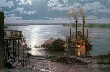 Natchez 1981 Limited Edition Print by John Stobart