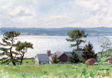 View Over the Sakonnet River 1987 Limited Edition Print - John Stobart