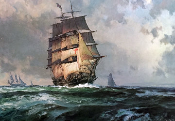 Dreadnought 1978 with Remarque Limited Edition Print by John Stobart