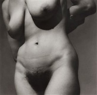 Torso, Taos NM 1930, Silver Gelatin Print Date 1976 from Doorstep Portfolio Photography - Paul Strand