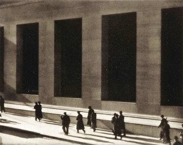 Wall Street, New York, 1915 Rare Photogravure Photography - Paul Strand