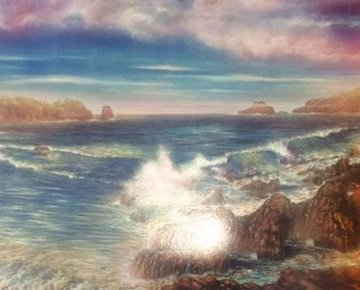 Surreal Sea 1988 Limited Edition Print by Brett Livingstone Strong