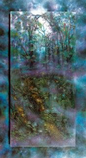 Emerald Rainforest 1989 35x44  Huge Limited Edition Print - Brett Livingstone Strong
