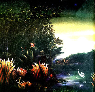 Homage of Henri Rousseau - Tango in the Night 1987 Limited Edition Print by Brett Livingstone Strong
