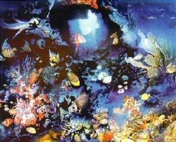 Aquatic Realm 1984 Limited Edition Print by Brett Livingstone Strong