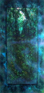 Emerald Rain Forest 1984 Limited Edition Print by Brett Livingstone Strong