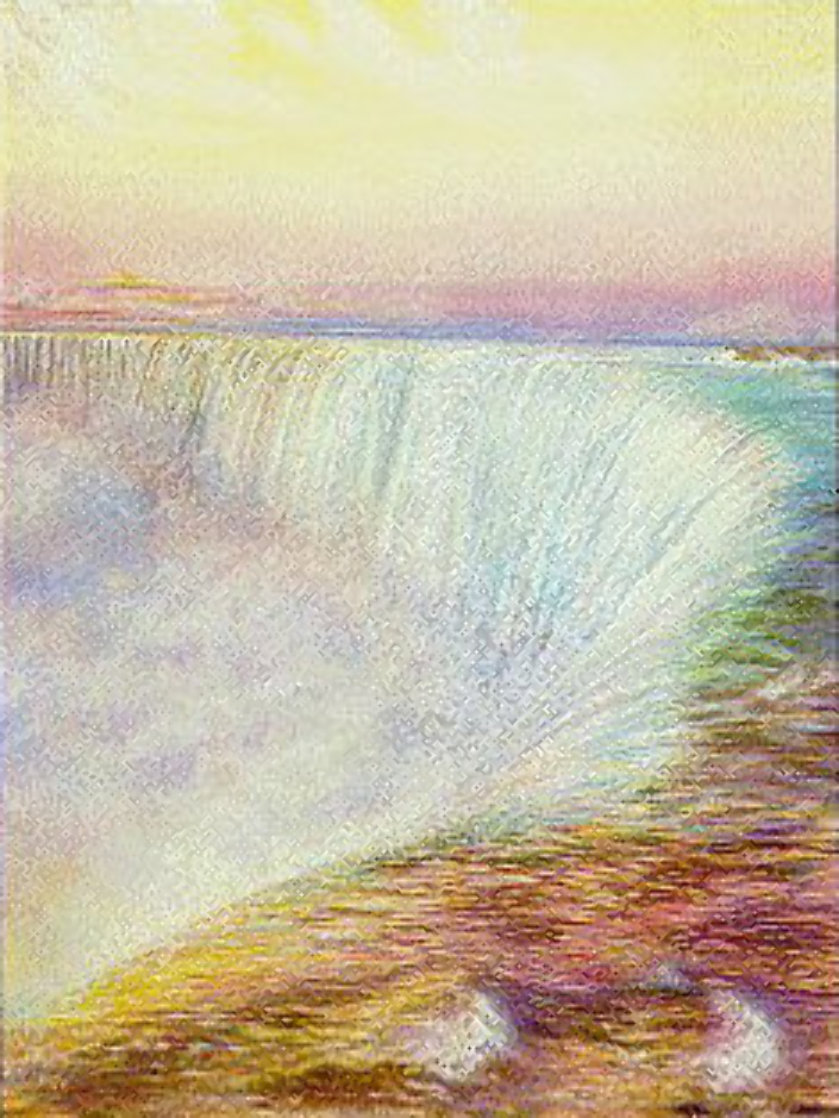 Niagara 1984 Limited Edition Print by Brett Livingstone Strong