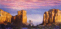 Monument Valley 1984 Limited Edition Print by Brett Livingstone Strong - 1