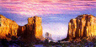 Monument Valley 1984 Limited Edition Print by Brett Livingstone Strong - 0