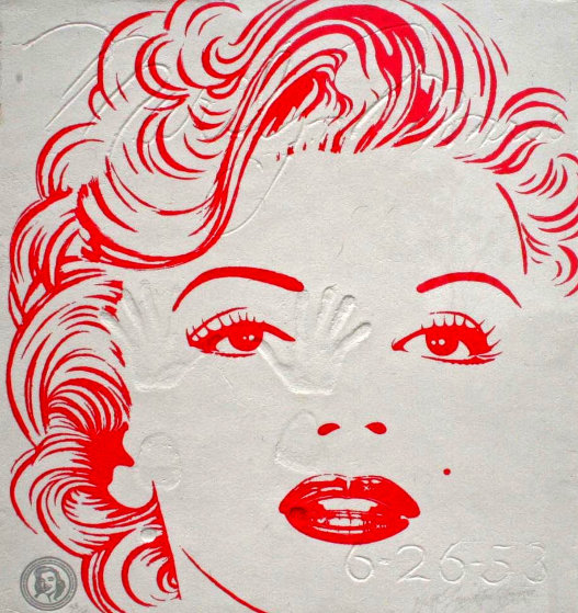 Marilyn Monroe 1984 Limited Edition Print by Brett Livingstone Strong