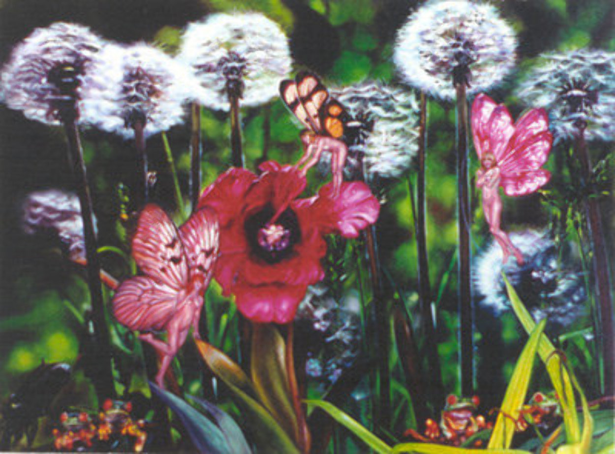 Dandelion 1984 Limited Edition Print by Brett Livingstone Strong