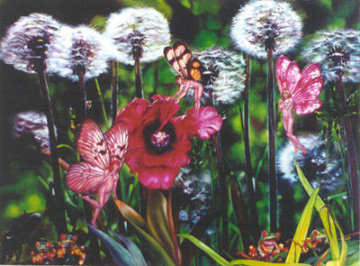 Dandelion 1984 Limited Edition Print by Brett Livingstone Strong