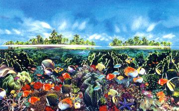 Tahitian Black Pearl 1984 Limited Edition Print by Brett Livingstone Strong