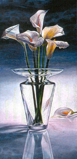 Lillies 1984 Limited Edition Print by Brett Livingstone Strong