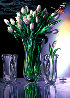 White Tulip 1984 Limited Edition Print by Brett Livingstone Strong - 0