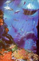Great White 1991 36x24 Original Painting by Brett Livingstone Strong - 0