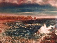 Surreal Sea 1990  Limited Edition Print by Brett Livingstone Strong - 2
