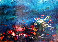 Great Barrier Reef 1996 Limited Edition Print by Brett Livingstone Strong - 2