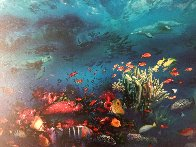 Great Barrier Reef 1996 Limited Edition Print by Brett Livingstone Strong - 3