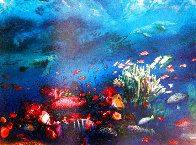 Great Barrier Reef 1996 Limited Edition Print by Brett Livingstone Strong - 0