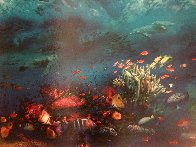 Great Barrier Reef 1996 Limited Edition Print by Brett Livingstone Strong - 1