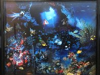 Aquatic Realm AP 1995  w Remarque Limited Edition Print by Brett Livingstone Strong - 1