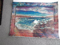 Surreal Sea AP 1990 Super Huge Limited Edition Print by Brett Livingstone Strong - 1