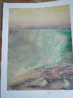 Niagara Falls 1992 Limited Edition Print by Brett Livingstone Strong - 1