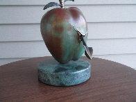 Vulnerable World Bronze Sculpture 1991 15 in Sculpture by Brett Livingstone Strong - 1