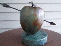 Vulnerable World Bronze Sculpture 1991 15 in Sculpture by Brett Livingstone Strong - 2