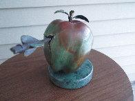 Vulnerable World Bronze Sculpture 1991 15 in Sculpture by Brett Livingstone Strong - 3