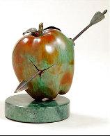 Vulnerable World Bronze Sculpture 1991 15 in Sculpture by Brett Livingstone Strong - 0